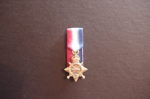 1914-15 Star - Miniature (Replica)