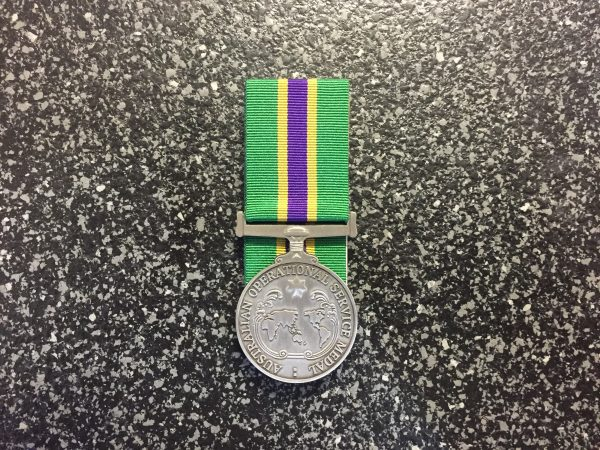 Australian Operational Service Medal - Civilian Recognition