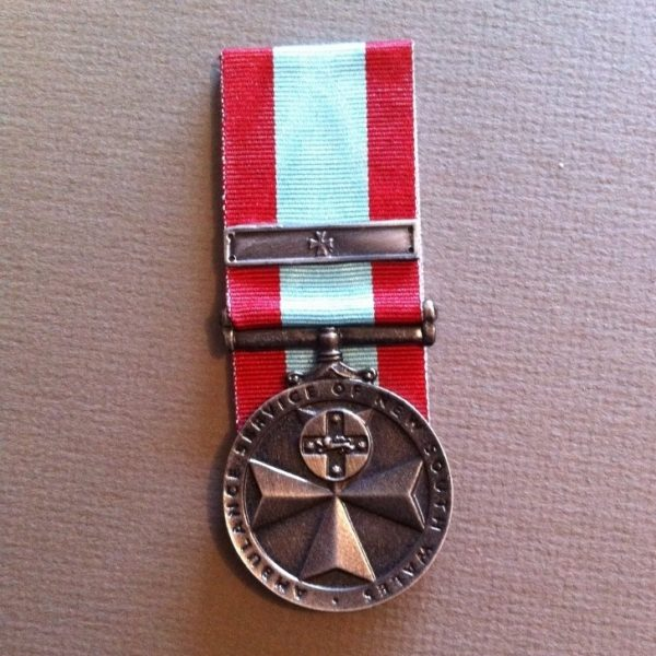 NSW Ambulance Service 10 Year Medal (Replica)
