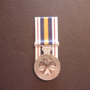 National Poilce Service Medal (Replica)