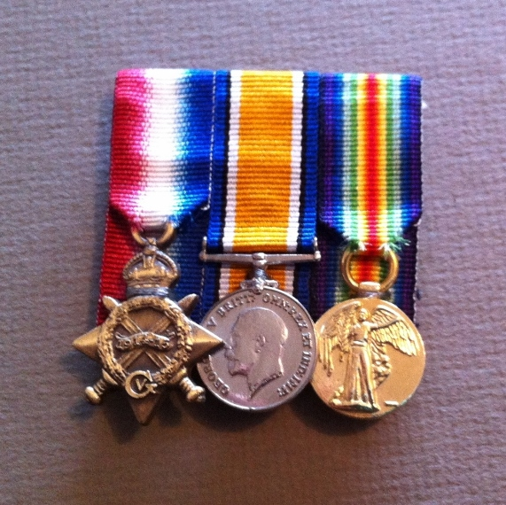 Replica Miniature World War 1 Set of 3 including 1914-15 Star, British War Medal BWM and Victory Medal