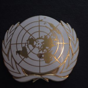 United Nations (UN) Badge
